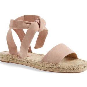 """Tereza"" Splendid Blush Suede Espadrilles Sandals!"